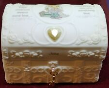 VTG COLLECTOR 1995 PRECIOUS MOMENTS JUNE HOPECHEST WITH BIRTHSTONE #165840 W/BOX