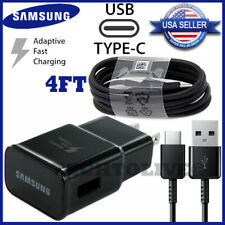 Original Samsung Galaxy Note10 S8 S9 S10 Plus Fast Wall Charger 4Ft Type-C Cable