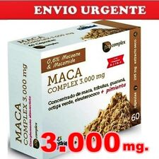 BNE008- MACA peruana COMPLEX 3.000mg! 60cp. +DESEO SEXUAL, ENERGÉTICO Nature