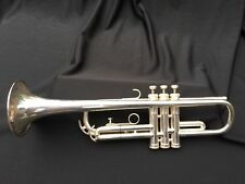 VOX 33 Silver Trumpet Bb Made In Germany Barcus Berry Pickup (B&S)