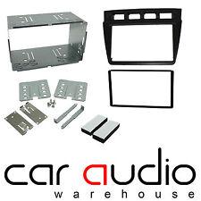 CT23KI11 Car Stereo Double Din Fascia Panel Kit Silver for Kia Picanto 2005-07