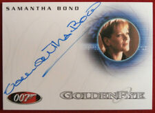 JAMES BOND - The Spy Who Loved Me - SAMANTHA BOND, Moneypenny  - Autograph Card
