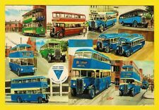 Bus Tram Postcard ~ Midland General: Notts & Derby - Ripley Heanor - MA Arts B14