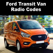 Ford Transit Van Radio Codes Stereo V Code Generator 4000RDS/6006 CDC/Connect