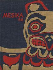 High School Yearbook Lynnwood Washington WA Meadowdale Senior HS Mesika 1966