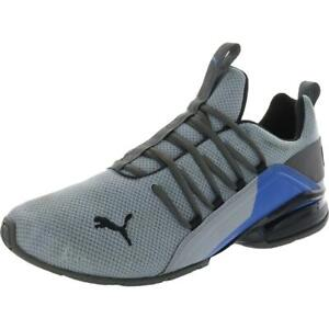 Puma Mens Axelion Break Gray Running Shoes Athletic 10.5 Medium (D) BHFO 1109