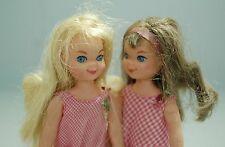 1960's Vintage Mini Barbie Tutti Doll - Lot of 2 Dolls