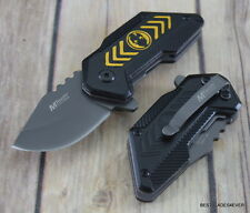 4.75 INCH MINIATURE MTECH SPRING ASSISTED KNIFE WITH POCKET CLIP