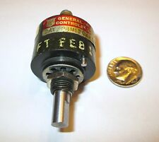 GENERAL CONTROLS RHEOSTAT  2K OHM DATED 1964 1 PCS.  NOS