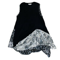 Boo Radley Long Top Or Short Dress Women's Size Large Stretch