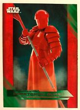 Star Wars Journey to the Last Jedi #11 Praetorian Guard Illustrated Character
