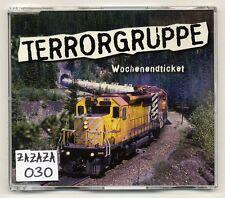 Groupe terroriste MAXI-CD billet - 4-track CD