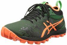 ASICS Men's GEL-Fujirunnagade Running Shoe 10.5 Dark Green/Flash Orange/Black