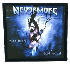 NEVERMORE dead heart in a dead world Toppa (patch) Testament,Exodus,Sanctuary