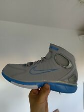 Nike Air Zoom Huarache 2k4 Shoes Wolf Grey & University Blue Sz10 308475-002
