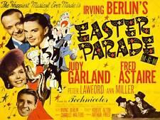 Publicité film film easter parade garland astaire berlin musical art imprimé BB7477