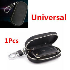 1Pcs Universal Top Layer Leather Fashion Car Smart Remote Key Holder Bags Cases