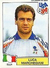 N°282 LUCA MARCHEGIANI ITALIA ITALY PANINI WORLD CUP 1994 STICKER VIGNETTE 94