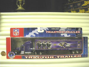 2006 Upper Deck Collectible NFL Tractor Trailer Team Transporters Nu Mint Boxed*