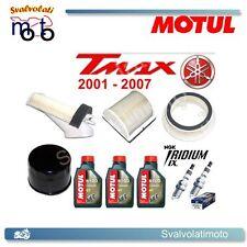 KIT TAGLIANDO TMAX 2007 3 LITRI MOTUL 5100 + FILTRI ARIA + FILTRO OLIO + IRIDIUM