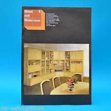 DDR Möbel und Wohnraum 8/1983 Fachzeitschrift Anbauwand 5057 Küchenmöbel Brno