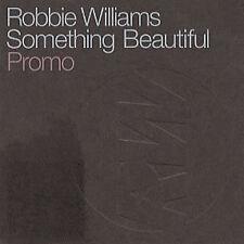 ROBBIE WILLIAMS 'SOMETHING BEAUTIFUL' RARE UK  PROMO