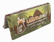6 Booklets Ultra Eco Clear Rolling Papers