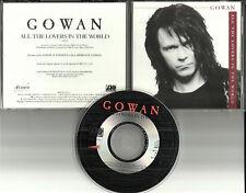 GOWAN w/ Alex of RUSH & tony Of KING CRIMSON All the Lovers PROMO DJ CD single