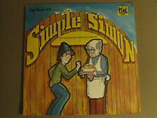 THE KID STUFF REPERTORY COMPANY THE STORY OF SIMPLE SIMON LP ORIG SEALED!