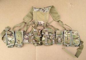 MTP / Multicam / BTP 7 Osprey Pouch PLCE Webbing Belt Kit Molle Belt Yoke