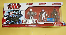 Star Wars Legacy Evolutions Clone Commandos Brand New Sealed FREE SHIP