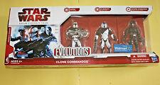 Star Wars Legacy Evolutions Clone Commandos Brand New Sealed FREE SHIP