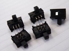 5 Pcs Micro Sub Miniature Slide Switch DPDT Model Railway Hobby CF13
