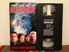 Vertical Limit (VHS, 2001) Tape & sleeve