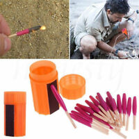 1 Box(20Pcs) Waterproof Windproof Survival Emergency Light Storm Matches Match