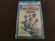 """1964 RARE 1st  ISSUE """" MCHALE'S NAVY  """" DELL COMIC BOOK CGC 9.6 N/MINT CERTIFIED"""