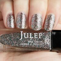 NEW! Julep nail polish in MILA Nail Vernis ~ Charcoal Multi-Colored Glitter
