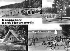 AK, Knappensee Kr. Hoyerswerda, vier Abb., 1982