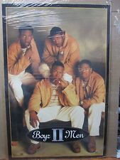 vintage Boyz II Men original rap artist music poster 12382