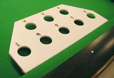 Vigma Billiards Ball Rack Accessory for CUEMATE Chess Pool Game  White Mahogany
