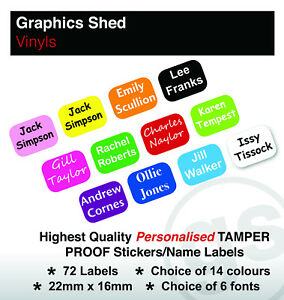 72 PERSONALISED TAMPER PROOF BUSINESS SECURITY LABELS STICK ON RETURN ADDRESS
