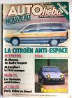 AUTO HEBDO n°503 du 2/01/1985; la citroën anti espace/ Essai Porsche 924 S/