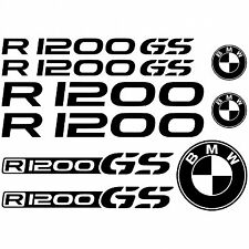 BMW R1200GS Decals Belly Pan Fairings Panniers Helmet Motorcycle Stickers