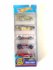 2015 Mattel Hot Wheels 5 Pack Track Stars Power Rage The Gov'ner Cul8r Ballistik