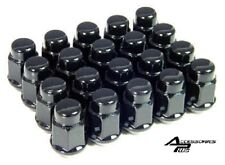 24 Pc BLACK BULGE ACORN LUG NUTS For TOYOTA 00-06 TUNDRA M12x1.50 # 1907BK