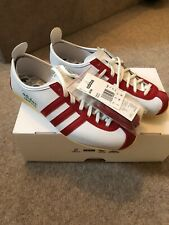 Adidas Japan White Red trainers sneakers, Size 7.5 UK, 8 US, 41 1/3 EU