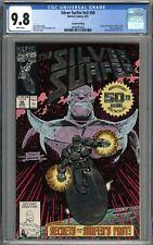 Silver Surfer #50 CGC 9.8 NM/MT 2nd Printing Variant Thanos App Origin Retold WP
