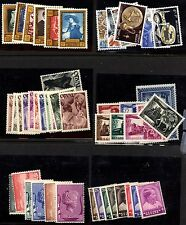 Belgium collection of 6 sets Mint Lightly Hinged
