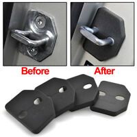 4Pcs For Volvo XC90 V40 Door Lock Striker Catch Cover Antirust Buckle Protect