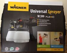Sealed Wagner Universal Paint Sprayer W599 Flexio Hurry before it last